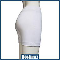 Quần Legging Nữ Bosimaz MS342 đùi không túi màu trắng cao cấp, thun co giãn 4 chiều, vải đẹp dày, thoáng mát. thumbnail