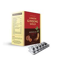 Linhzhi Ginseng Gold - Giúp bồi bổ cơ thể, hỗ trợ nâng cao thể lực, tăng cường sức đề kháng, hỗ trợ giảm mệt mỏi, suy nhược cơ thể - Hộp 50 viên nang mềm thumbnail