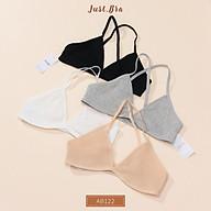 Áo ngực Just Bra thun gân không mút mỏng nhẹ AB122 thumbnail