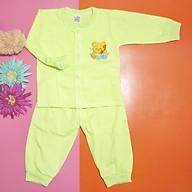 Bộ quần áo tay dài trẻ sơ sinh TiTi mèo con (5 màu) thumbnail