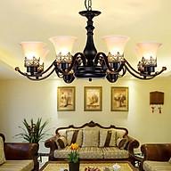 Đèn chùm - đèn trần trang trí nội thất 3 tay cổ điển PHONG CÁCH CỔ ĐIỂN BẮC ÂU thumbnail
