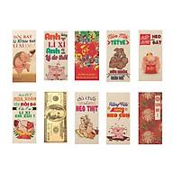 Bao Lì Xì Tết Vui Nhộn Độc Đáo - Anh Ơi Mùa Xuân Đến Rồi Đó - (10 cái 1 xấp) Giao mẫu ngẫu nhiên thumbnail