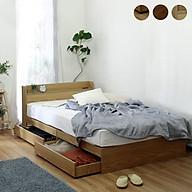 Giường ngủ cao cấp phong cách Nhật Bản - alala.vn (1m6x2m) thumbnail