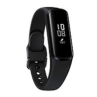 Samsung Galaxy Fit E 2019, Fitness Band, Pedometer, Heart Rate & Sleep Tracker, PMOLED Display, 5ATM Water Resistance, MIL-STD-810G, Bluetooth Active SM-R375 - International Version (Black) thumbnail