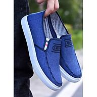 Giày lười nam phong cách trẻ trung hiện đại N19 siêu nhẹ bằng vải sợi Canvas thumbnail