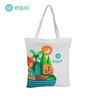 Túi vải EQUO thiết kế Proudly Vietnam sử dụng được nhiều lần size 630 350mm thumbnail