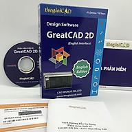 Phần mềm thiết kế GreatCAD phiên bản tiêu chuẩn Giao diện tiếng Anh - Hàng chính hãng thumbnail