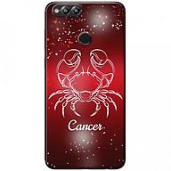 Ốp lưng dành cho Honor 7X mẫu Cung hoàng đạo Cancer (đỏ) thumbnail