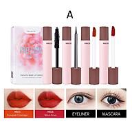 Set Trang Điểm PRO LIGHT 1 Mascara + 1 Kẻ Mắt + 2 Son Lì của Feng Hang Hot Trend 2021 thumbnail