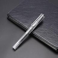 Bút Ký Viết Gel Vỏ Trong Suốt VEYRON PM152A-Mực Xanh thumbnail