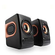 Bộ Loa Máy Tính Stereo Mini Để Bàn Cao Cấp Âm Thanh Siêu Trầm Hỗ Trợ USB 2.0 thumbnail