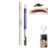 Chì vẽ mày sắc nét Aroma Eyebrow Pencil Hàn Quốc No.11 Balck tặng kèm móc khoá thumbnail