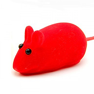 Combo 5 Chuột đồ chơi cho mèo chất liệu cao su bọc vải nhung (Giao màu ngẫu nhiên) thumbnail