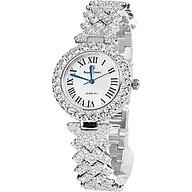 Đồng hồ nữ chính hãng Royal Crown 6305 dây đá vỏ trắng thumbnail