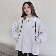 Áo Khoác Nam Nữ Form Rộng Chất Liệu Thun Nỉ Thêu Chai Nước Ngực Phong Cách Hàn Quốc Dễ Thương LV37 thumbnail