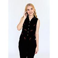 Đồ mặc nhà Bộ dài nữ sát nách Tvm Luxury Homewear B547 thumbnail