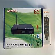 Android Tivi Box NETBOX B2 Ram 1Gb Rom 8Gb 4K UltraHD TẶNG KÈM ĐIỀU KHIỂN GIỌNG NÓI NETBOX V2 - Hàng Chính Hãng thumbnail
