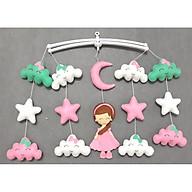 Combo mẫu treo nôi handmade màu sắc công chúa mây xanh ngọc kích thích thị giác thumbnail