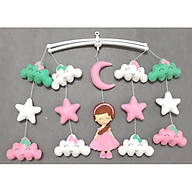 Treo nôi handmade màu sắc công chúa mây xanh ngọc kích thích thị giác cho bé thumbnail