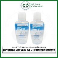 Nước Tẩy Trang Vùng Mắt Và Môi Maybelline New York Eye + Lip Make Up Remover 40ml thumbnail