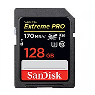 Thẻ Nhớ SDXC SanDisk Extreme Pro 170Mb s - 128Gb - Hãng nhập khẩu thumbnail