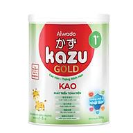[Tinh tuý dưỡng chất Nhật Bản] Sữa bột KAZU KAO GOLD 350g 1+ (từ 12 tháng đến 24 tháng) thumbnail
