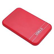 2.5Inch USB3.0 SATA Hard Drive Box SSD External Enclosure Box with USB Cable (White) thumbnail