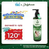 Sữa tắm gội toàn thân cho em bé chiết xuất tinh dầu Gừng và Vỏ Bưởi 250ml JULYHOUSE thumbnail