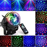 Đèn led xoay 7 màu cảm ứng ( tặng kèm 1 đèn ngủ nấm) thumbnail