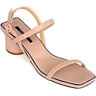 Giày Sandal Gót Trụ 5 phân Sulily SGT1-II20 màu kem thumbnail