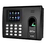 Máy chấm công vân tay thẻ ZKTeco K30 - Hàng nhập khẩu thumbnail