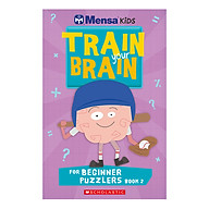 Mensa Train Your Brain Beginner Puzzles Book 2 thumbnail