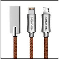 Cáp sạc nhanh Micro USB Sendem T6 - ( Dài 1m ) - Hàng Chính Hãng thumbnail