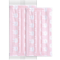 Steady (Winner) disposable mask daily care dust-proof anti-pollination cherry blossom pattern 30 pieces bag independent packaging thumbnail