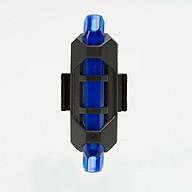 Đèn hậu xe đạp - Đèn hậu led sạc USB thumbnail