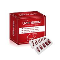 Viên bổ gan LIVER GOODz 50 viên (Mới) - Bổ gan, Mát gan, Giải độc, Tăng cường chức năng gan, Bảo vệ tế bào gan thumbnail