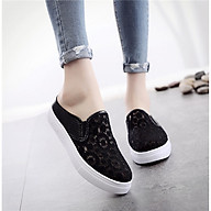 Giày sục nữ thời trang phong cách Hàn Quốc, Giày nữ thoáng khí mùa hè, chống hôi chân - SB128 thumbnail