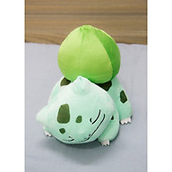 Thú nhồi bông Pokemon ếch kì diệu Bulbasaur ngủ dễ thương BA00086 thumbnail