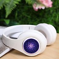 Tai Nghe Bluetooth Chụp Tai Có Micro, Tai Nghe Không Dây Chơi Game, Cách Âm Tốt, Dung Lượng Pin Lớn, Headphone Siêu Bass thumbnail
