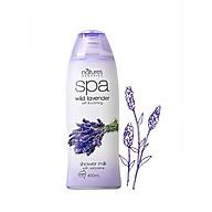 Sữa tắm tẩy tế bào chết hương oải hương thư giãn SPA lavender 400ml thumbnail