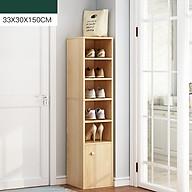 Kệ để giày góc L233 kích thước 33x30x150cm - Kệ để giày đa năng thumbnail