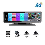 Camera hành trình 360 độ gắn gương và taplo ô tô cao cấp Phisung T88 - Ram LPDDR4, 2GB, Rom EMMC5.1, 32GB - Hệ điều hành Android 9.0 - Hàng Nhập Khẩu thumbnail