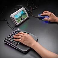 Bộ Bàn phím giả cơ FREE WOLF K11 và chuột FREE WOLF V5 chuyên game có thể chơi game trên điện thoại, ipad, latop - Hàng Chính Hãng thumbnail