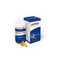 Lachsoil omega 3 Hộp 60 viên giúp sáng mắt, tăng cường trí nhớ, phát triển trí não, làm đẹp da, cung cấp DHA & EPA cần thiết cho sự phát triển của thai nhi, ngăn ngừa xơ vữa động mạch thumbnail