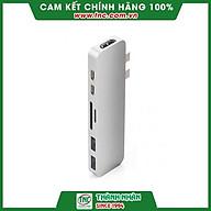 Cổng chuyển HyperDrive DUAL USB-C Hub GN28B-Hàng chính hãng. thumbnail