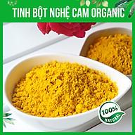Tinh bột nghệ cam organic Kentary túi 250g (10% Curcumin), đậm vị nghệ - thực phẩm chăm sóc sức khỏe từ thiên nhiên thumbnail