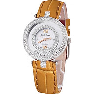 Đồng hồ nữ chính hãng Royal Crown 3628 - dây da cam thumbnail