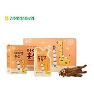 Hồng sâm trẻ em - Hồng sâm 6 năm tuổi Korean Red Ginseng Kid Tonic - Hộp 30 gói x 10ml gói thumbnail