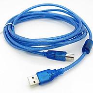 Dây Máy In 5M Kết Nối Cổng USB Có Cục Chống Nhiễu thumbnail