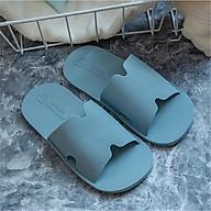 Dép cao su PVC nam DT20M1 đi trong nhà đế đơn nhẹ dẻo chống trơn màu sắc trang nhã thumbnail
